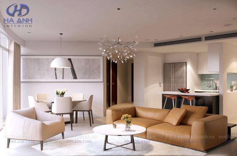 Phòng khách laminate HA-8104-2