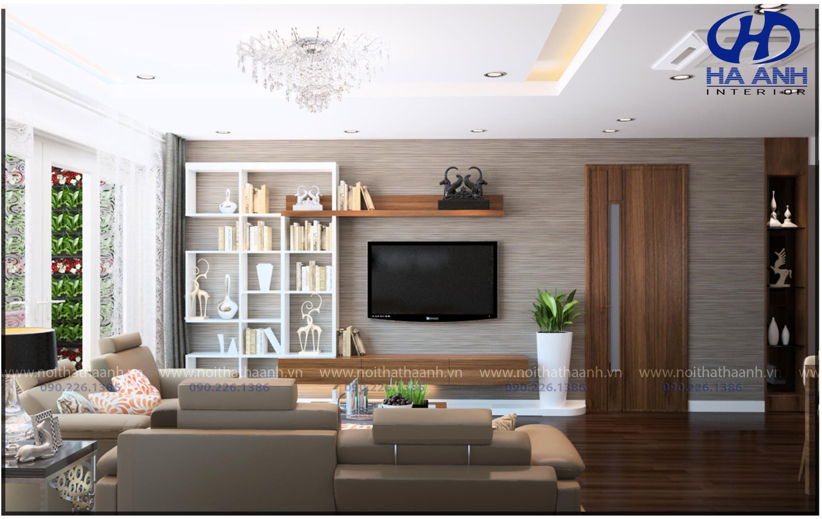 Phòng khách laminate HA-8106