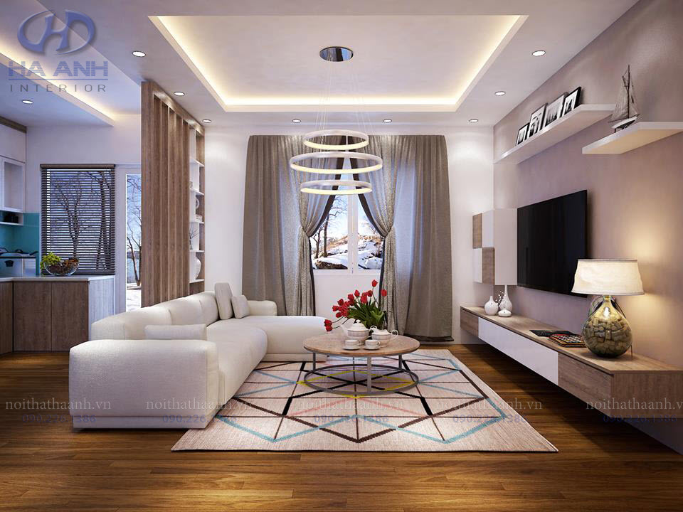 Phòng khách laminate HA-8107-2