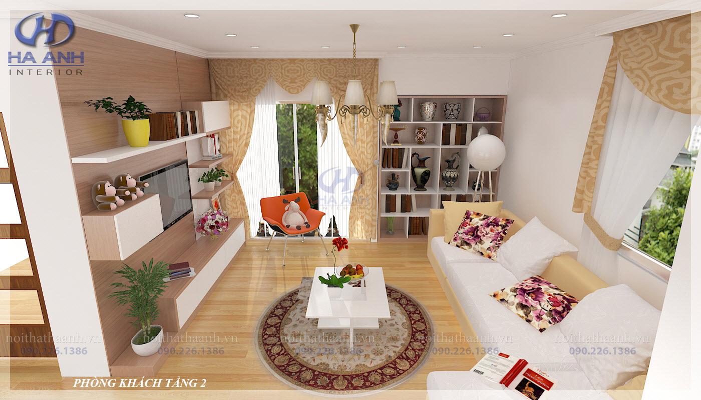 Phòng khách laminate HA-8108
