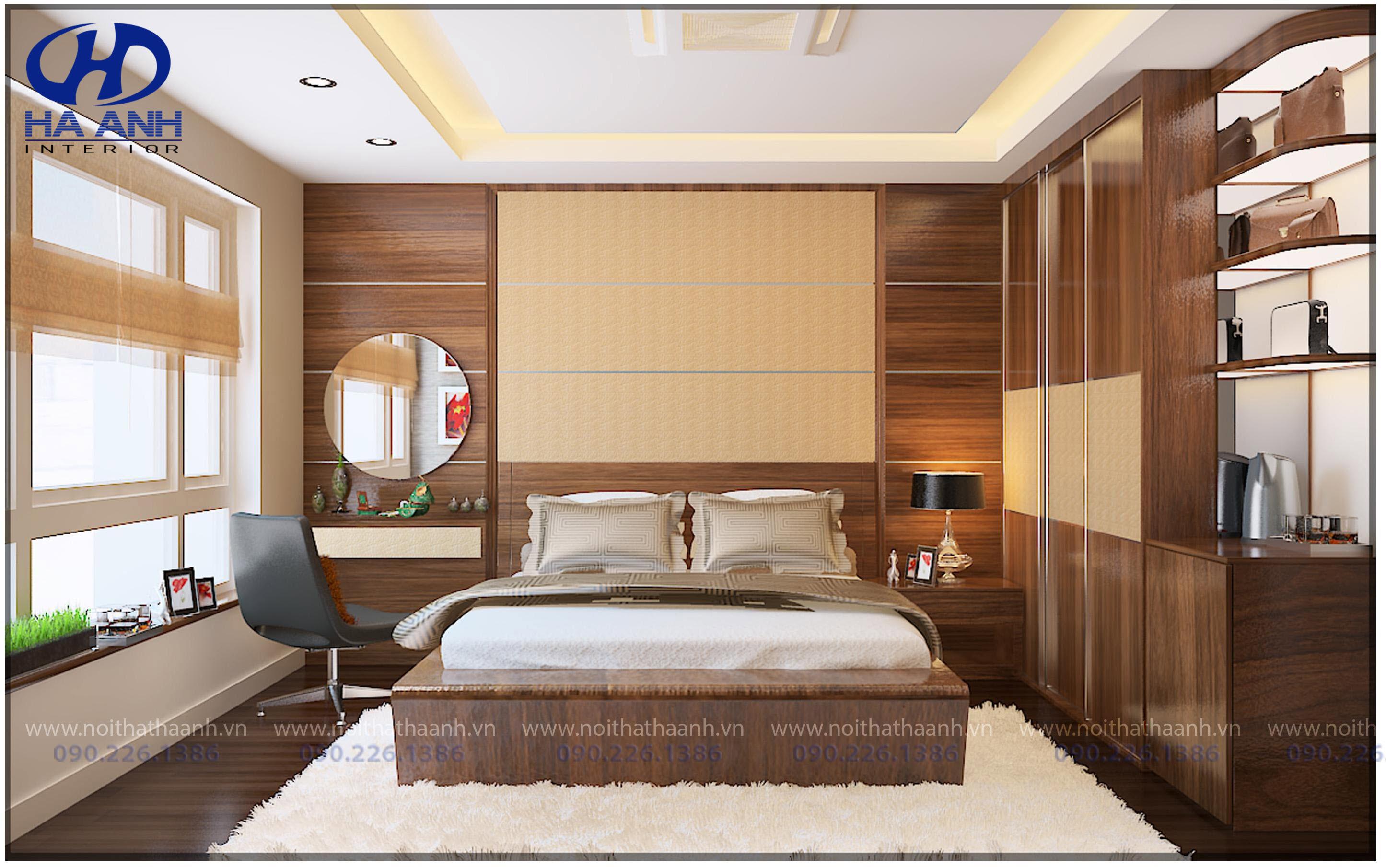 Phòng ngủ laminate HA-8011