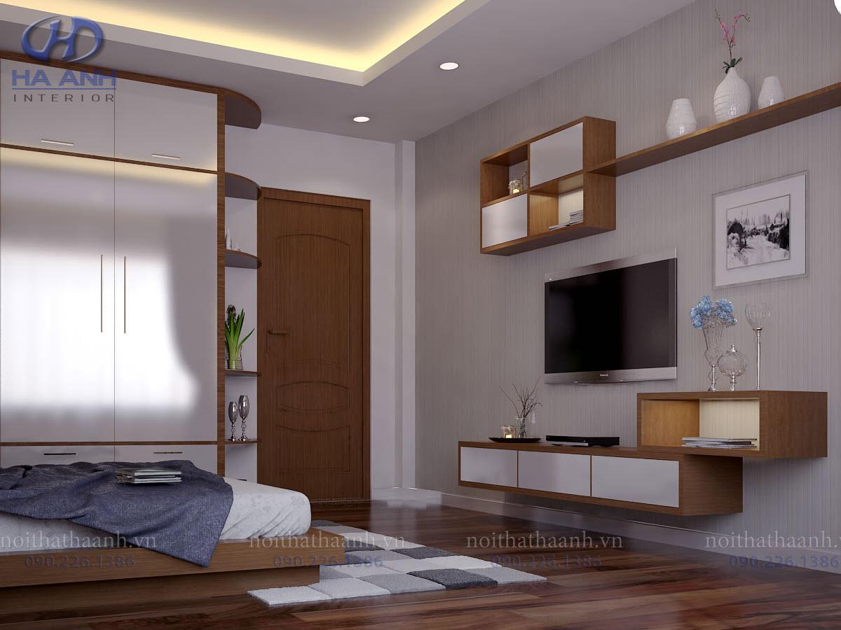 Phòng ngủ laminate HA-8012-2