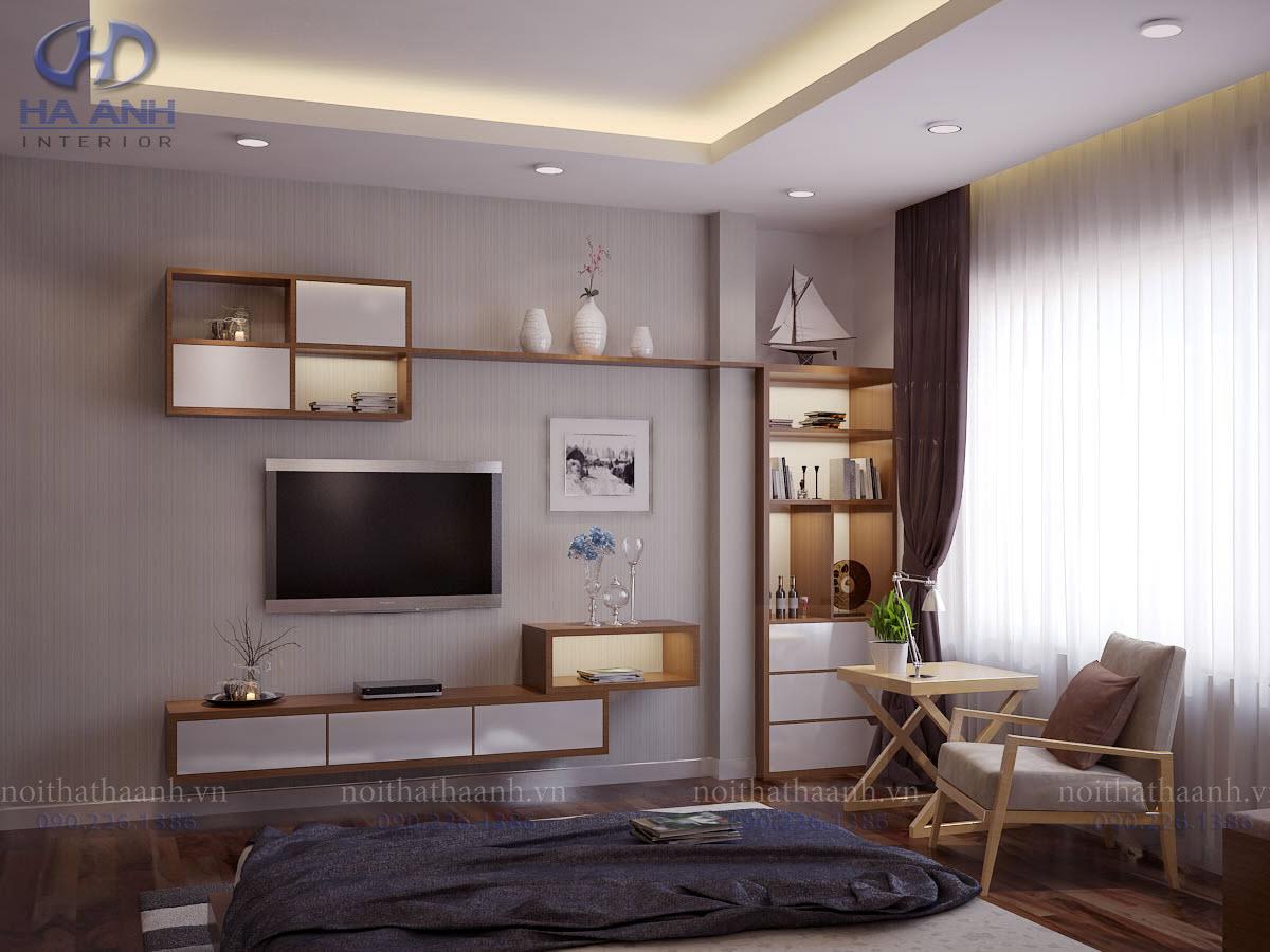 Phòng ngủ laminate HA-8012-3