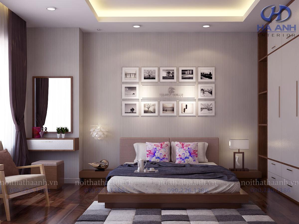 Phòng ngủ laminate HA-8012