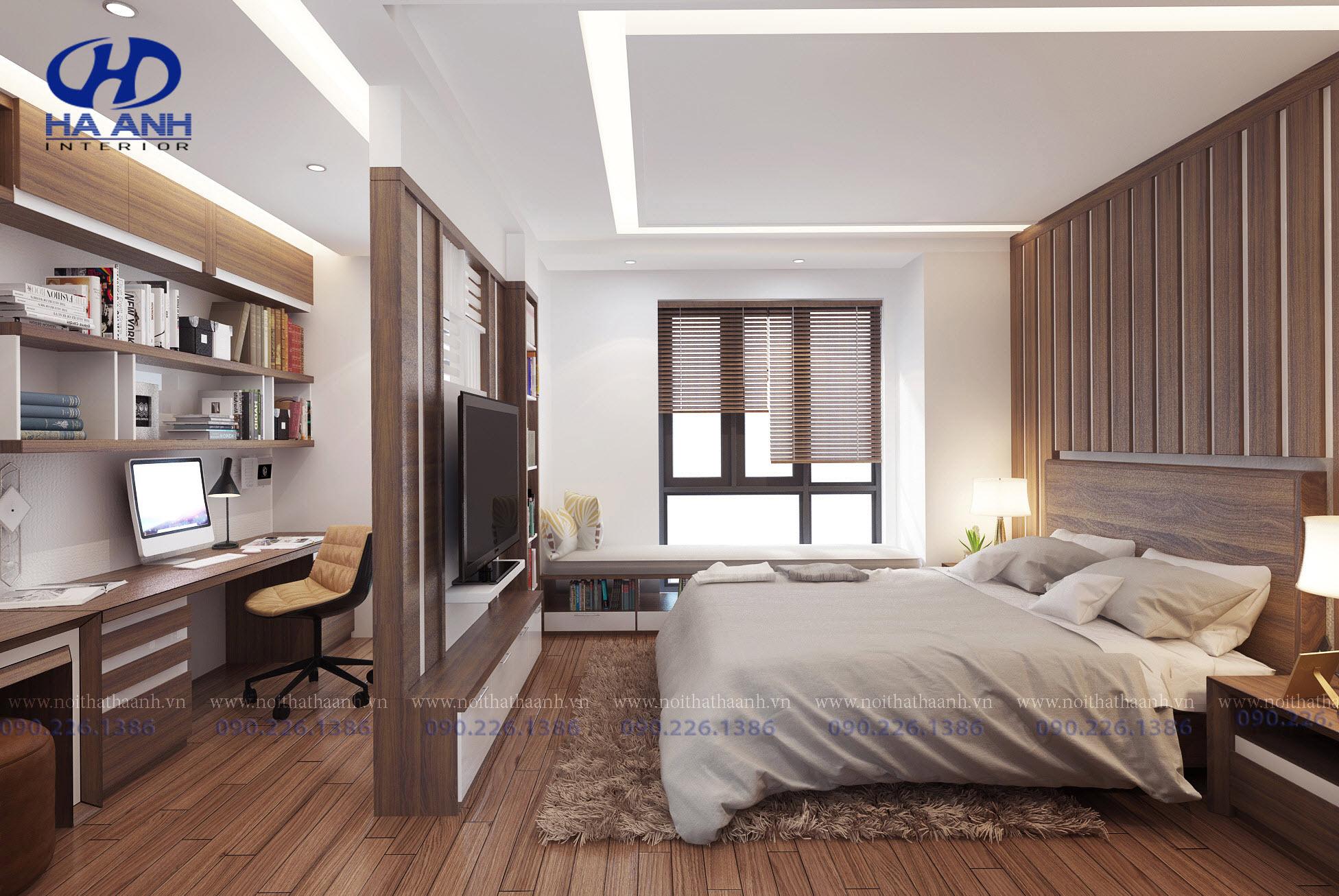 Phòng ngủ laminate HA-8020-2