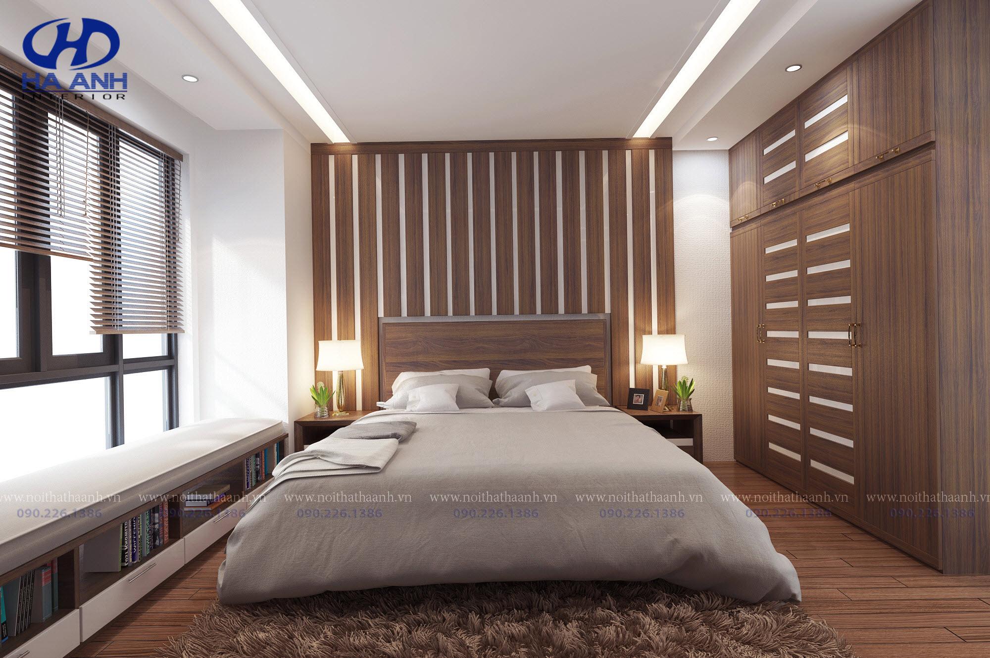 Phòng ngủ laminate HA-8020