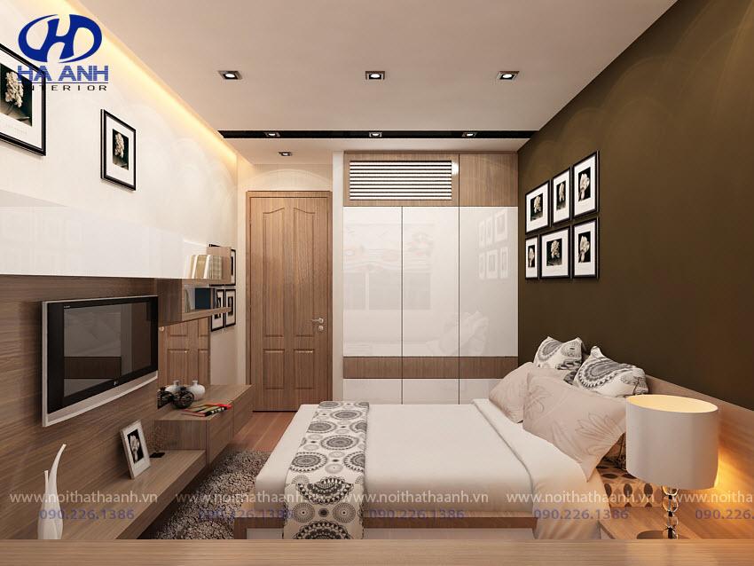 Phòng ngủ laminate HA-8021
