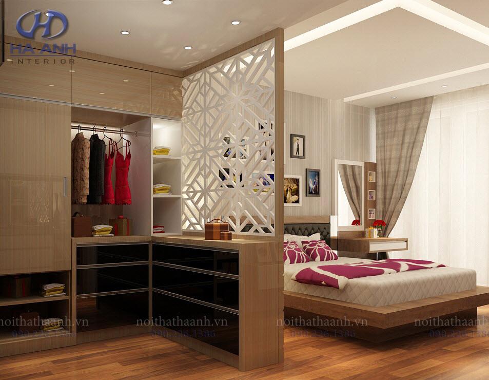 Tủ quần áo gỗ laminate - thể hiện đẳng cấp của bạn
