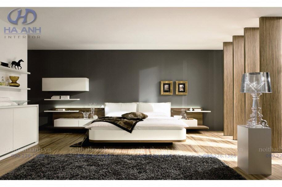 Phòng ngủ laminate HA-8023