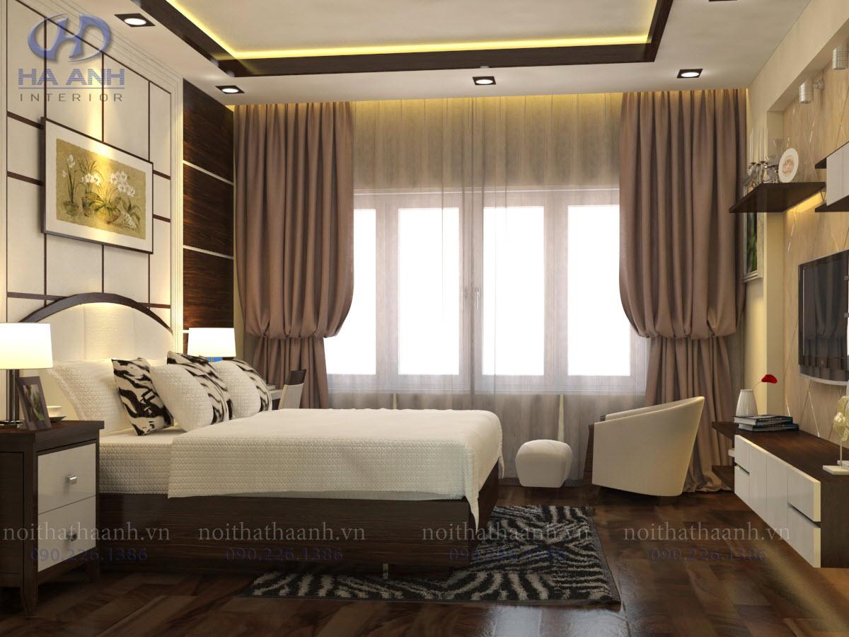 Phòng ngủ laminate HA-8027