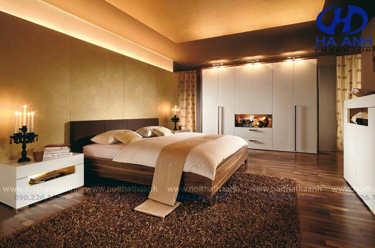 Phòng ngủ laminate HA-8028