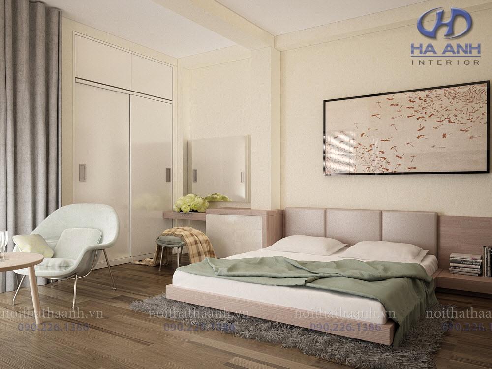 Phòng ngủ laminate HA-8029