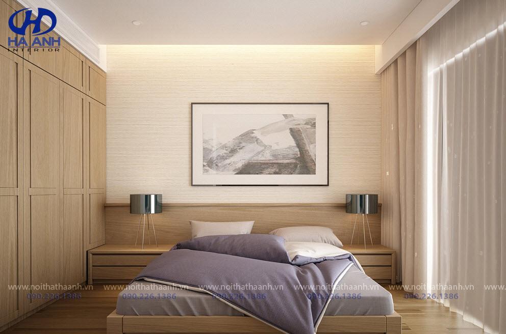 Phòng ngủ laminate HA-8031