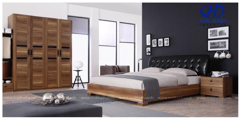 Phòng ngủ laminate HA-8032