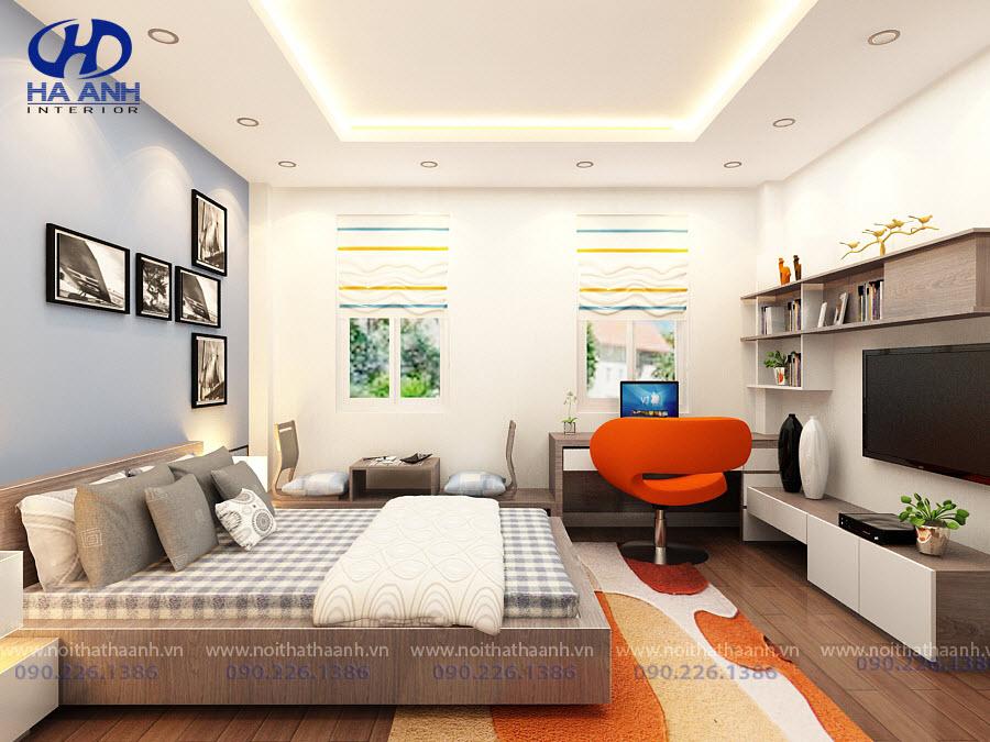 Phòng ngủ laminate HA-8034
