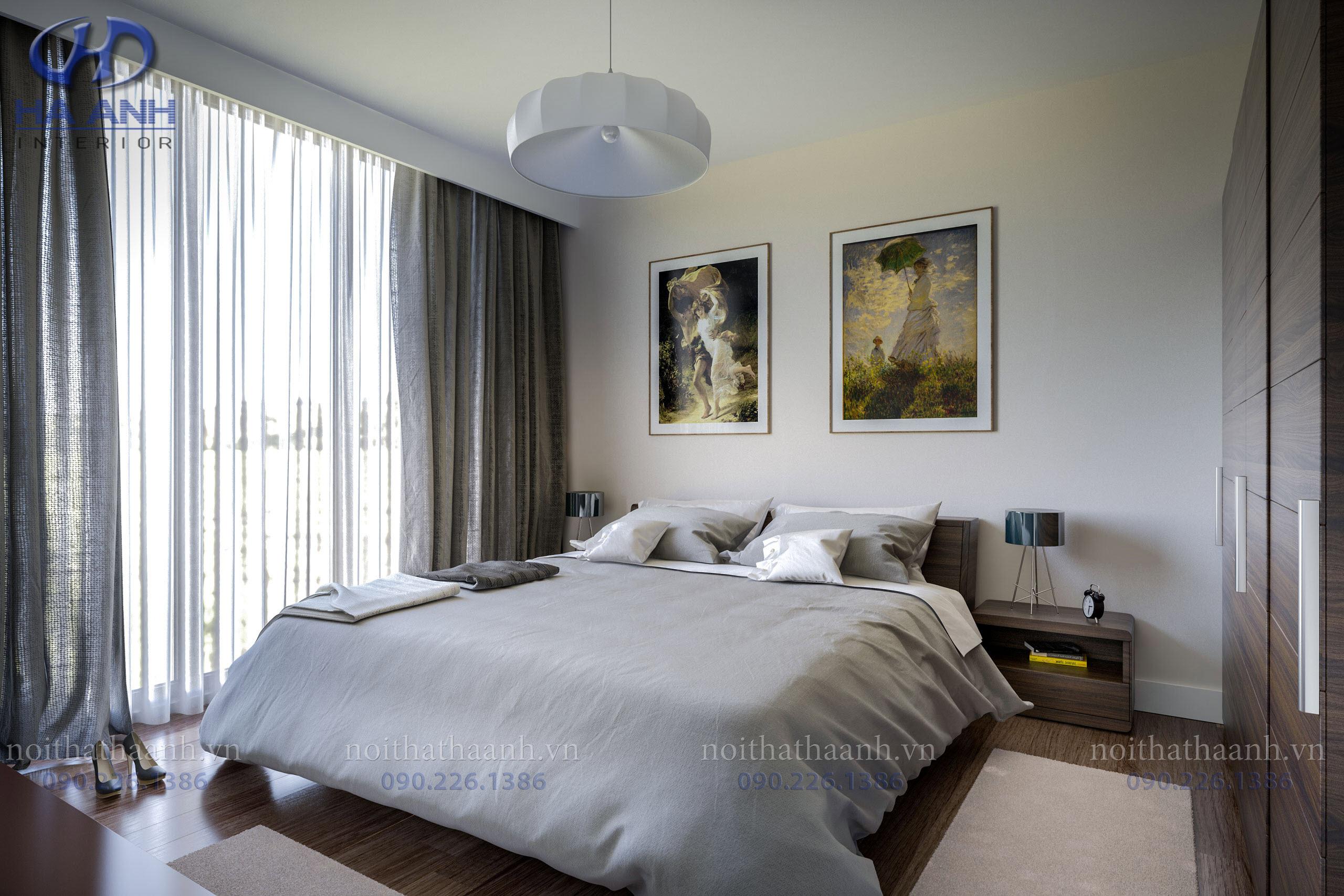 Phòng ngủ laminate HA-8035