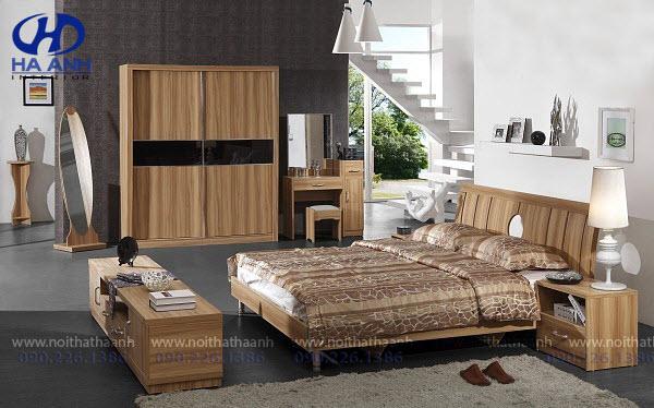 Phòng ngủ laminate HA-8036