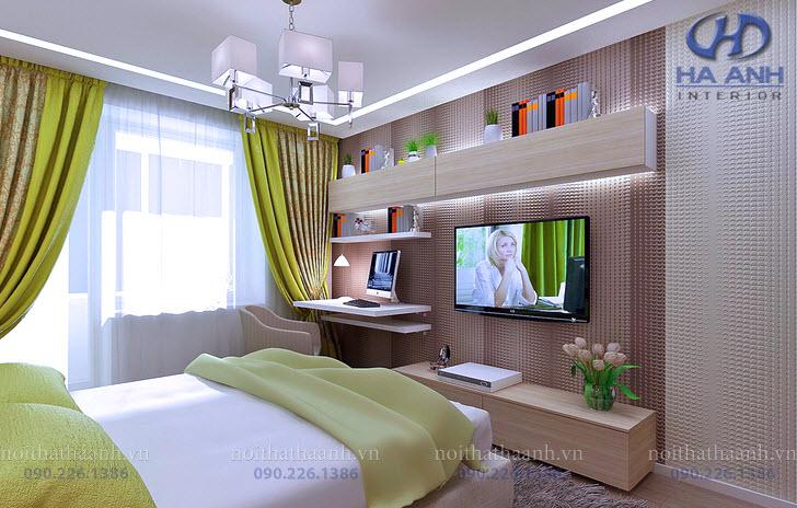 Phòng ngủ laminate HA-8037