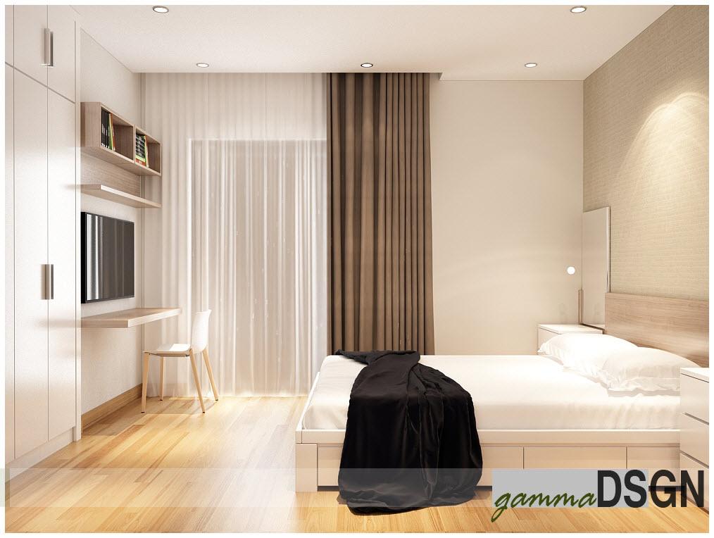Phòng ngủ laminate HA-8039
