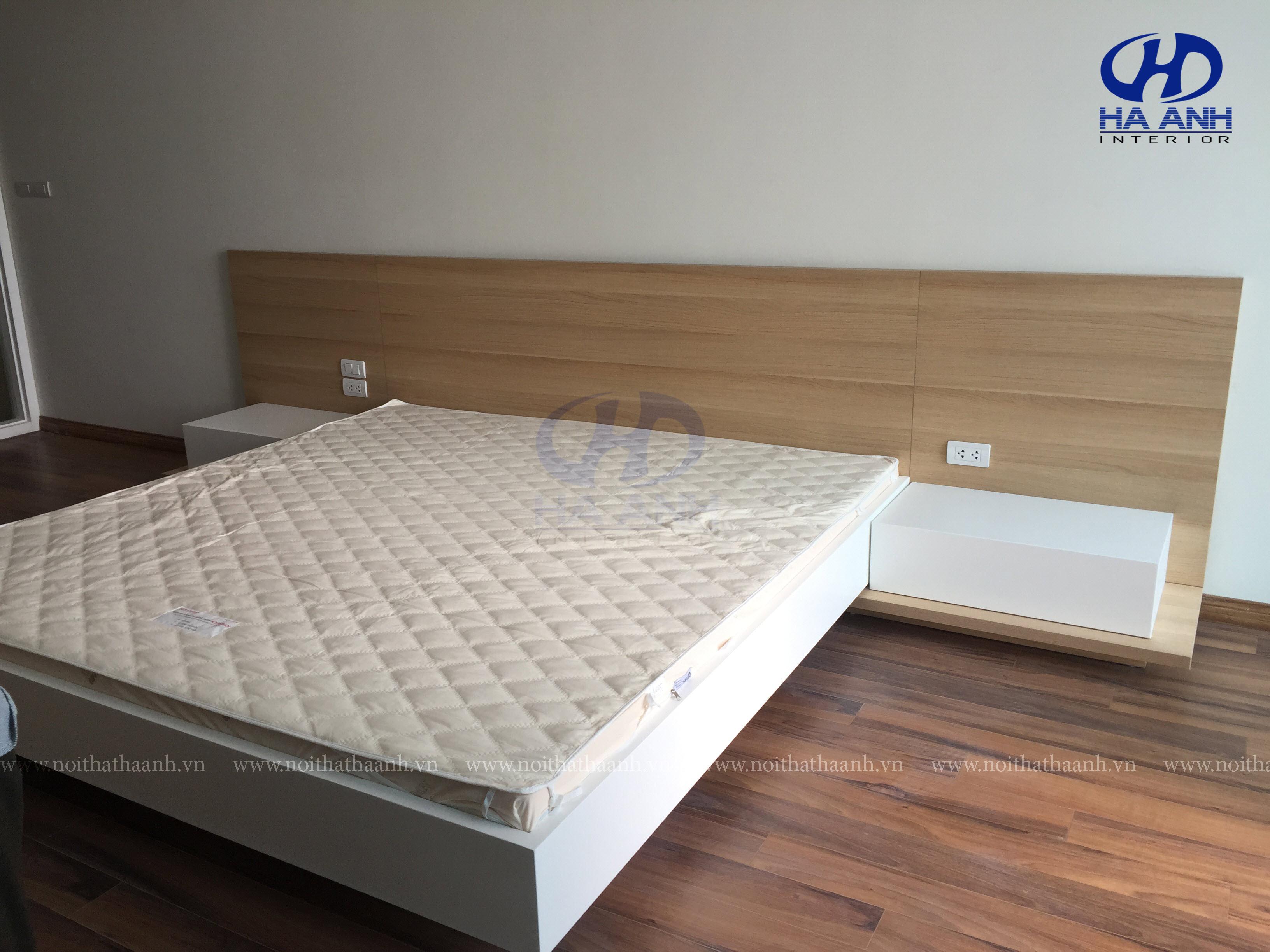 Phòng ngủ laminate HA-8040