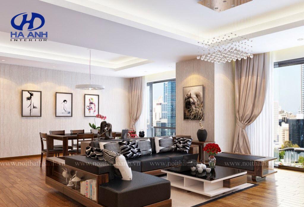 Sofa gỗ HA-50214