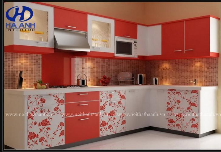 Tủ bếp công nghiêp HA-30123-1