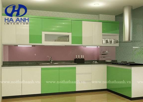Tủ bếp công nghiêp HA-30124-1