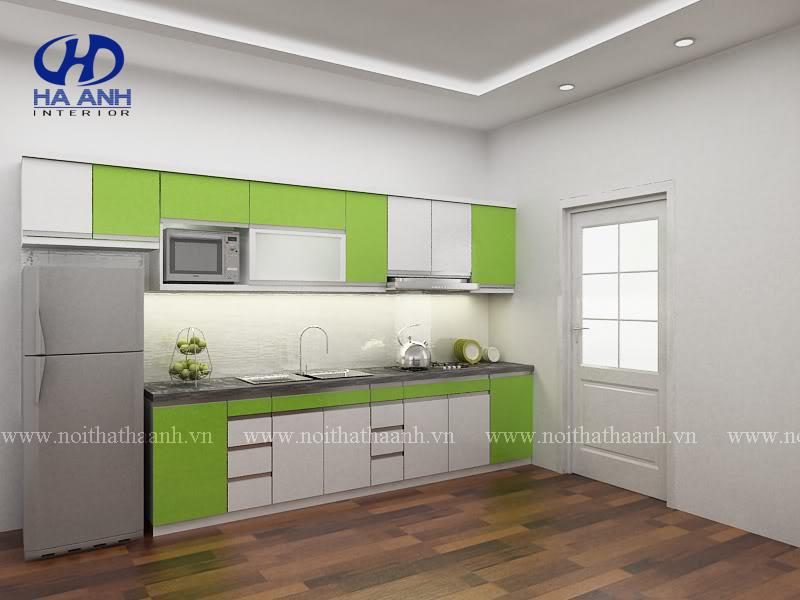 Tủ bếp công nghiệp HA-30133