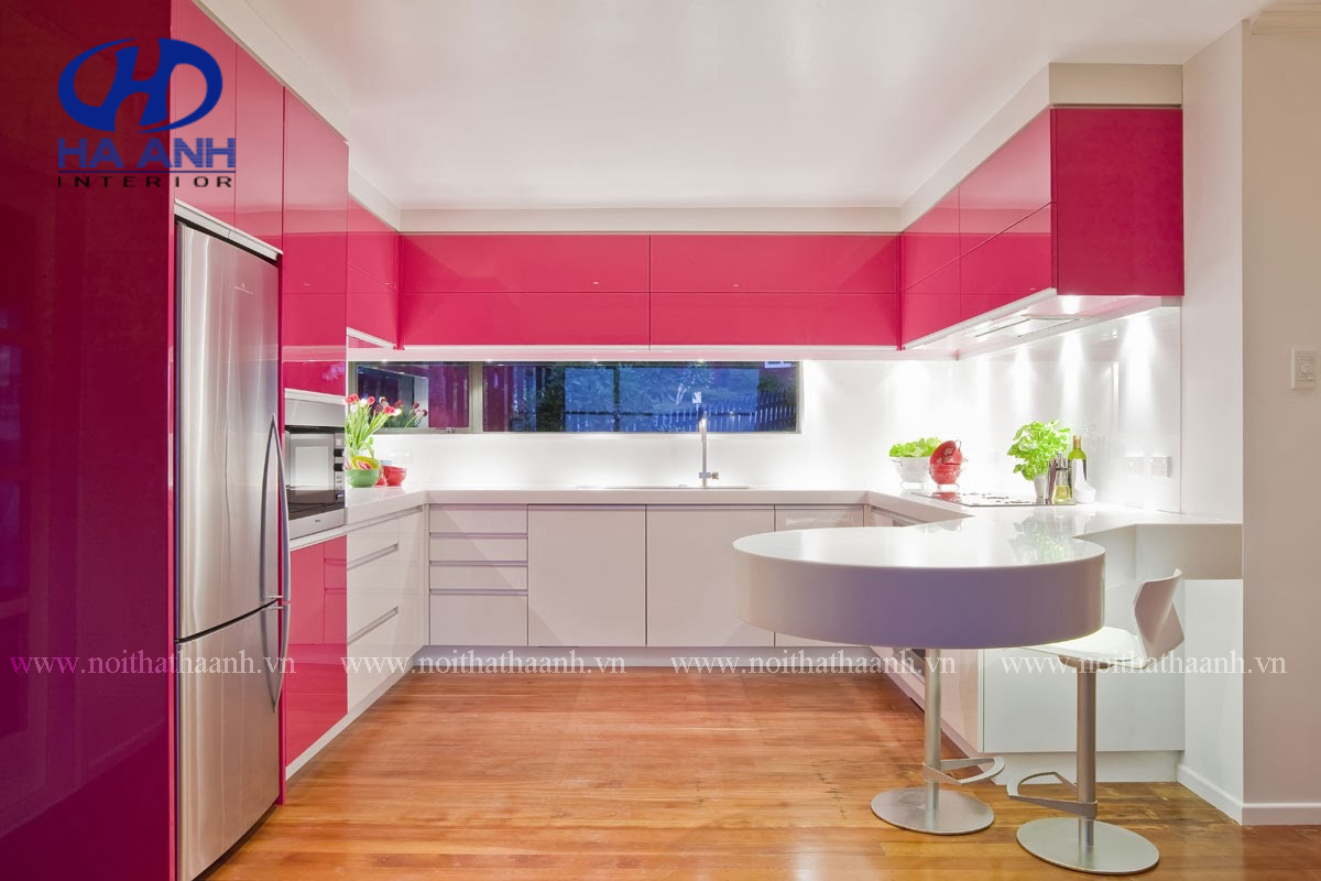 Tủ bếp công nghiệp HA-30137
