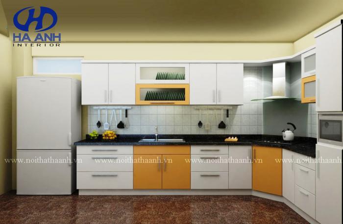 Tủ bếp công nghiệp HA-30141