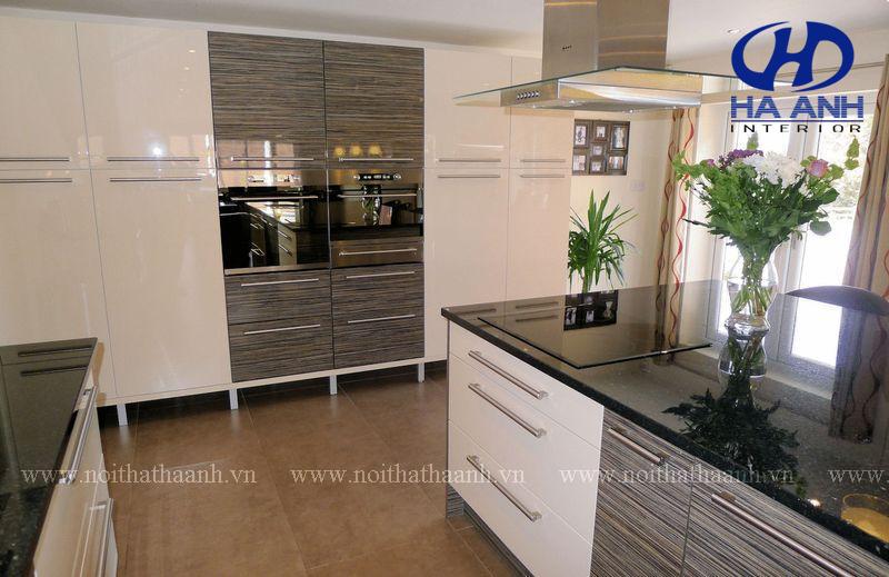 Tủ bếp laminate HA-30443