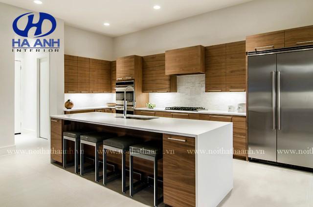 Tủ bếp laminate HA-30446