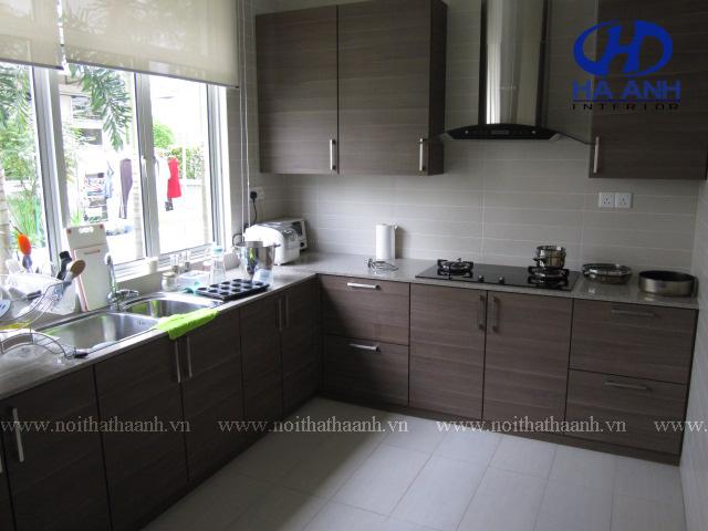 Tủ bếp laminate HA-30447