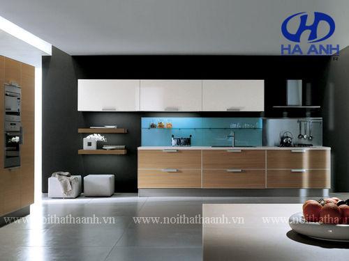 Tủ bếp laminate HA-30448
