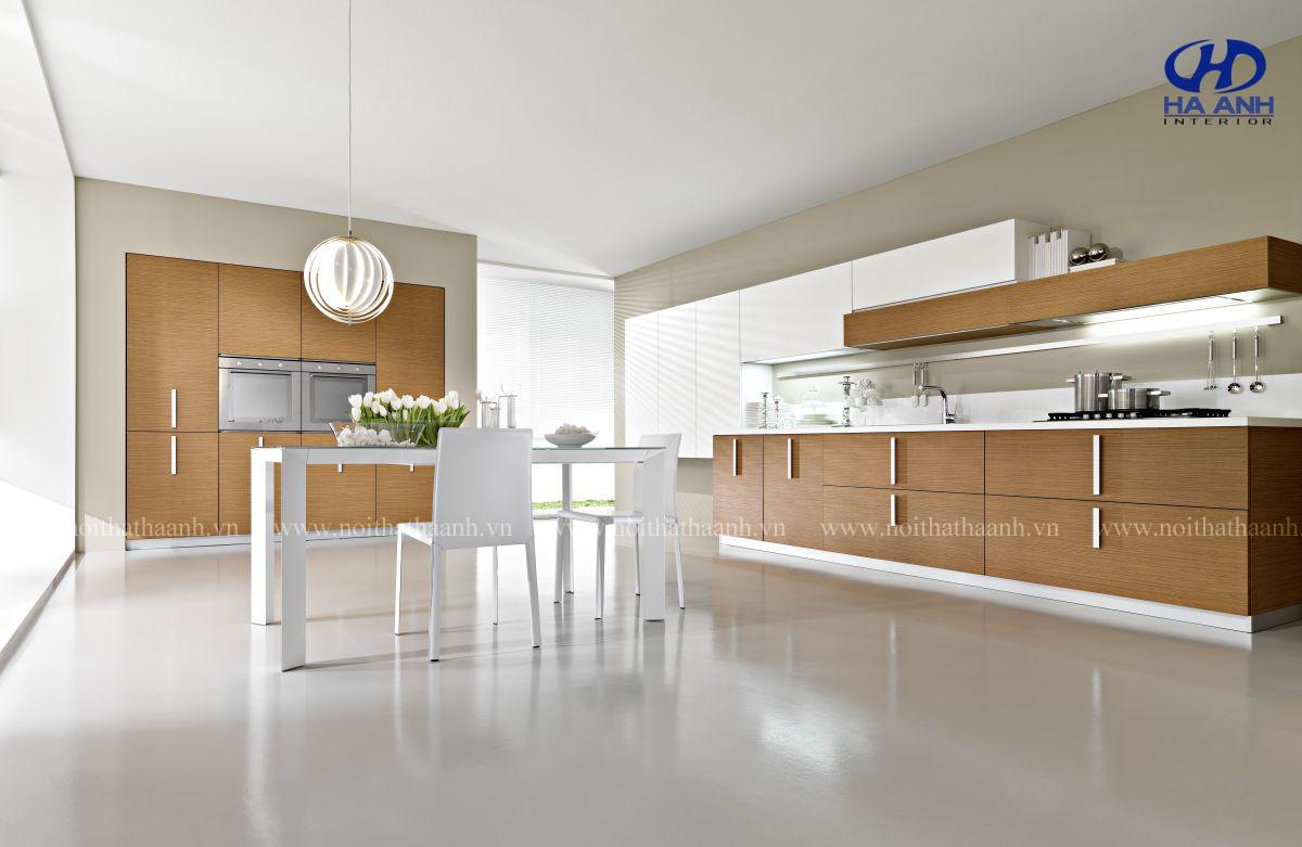 Tủ bếp laminate là gì ?