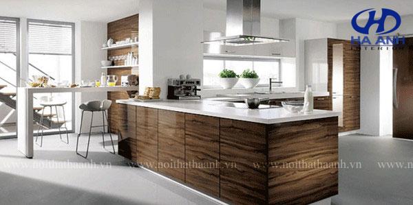 Tủ bếp laminate bền đẹp