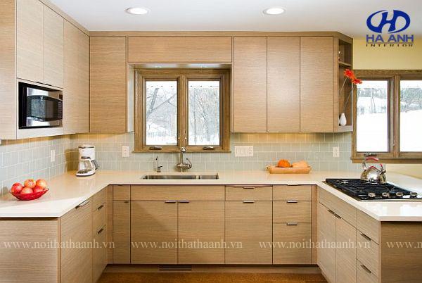 Tủ bếp nhựa laminate