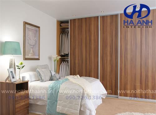 Tủ áo laminate HA -8202