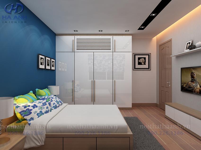 Tủ áo laminate HA -8204