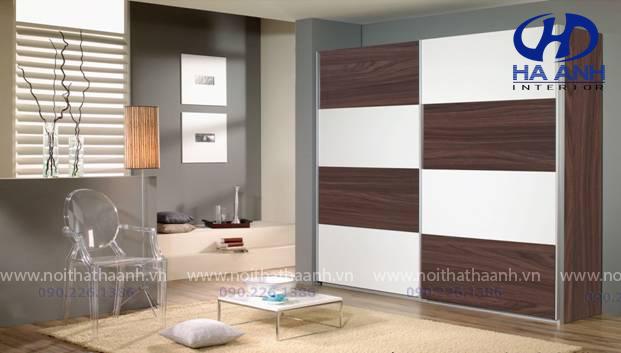 Tủ áo laminate HA -8207-1