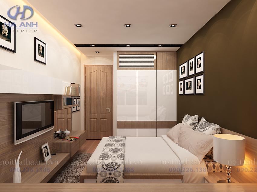 Tủ áo laminate HA -8208-1