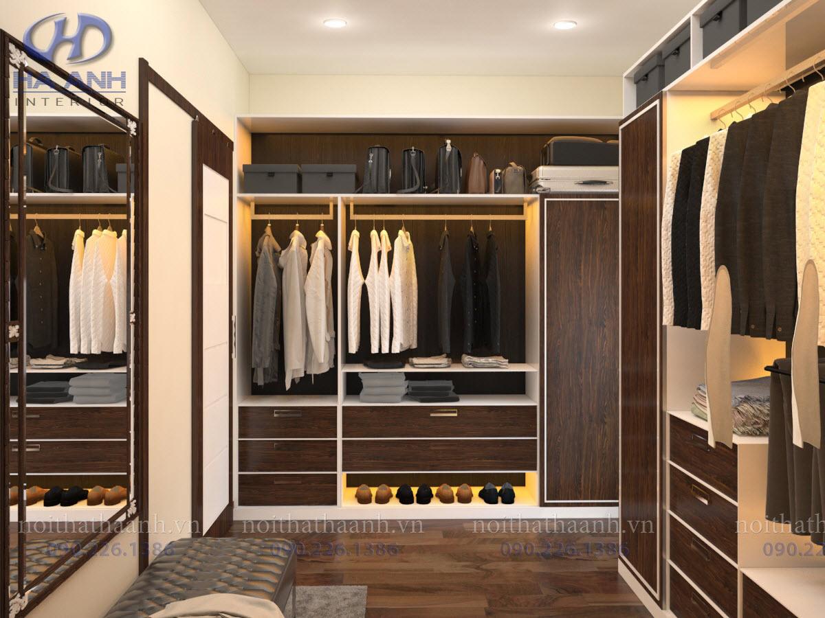 Ưu điểm nổi bật của tủ áo laminate