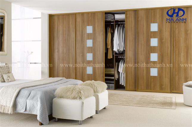 Thiết kế của tủ quần áo laminate đang được ưa chuộng