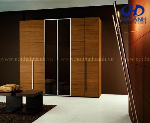 Lựa chọn tủ áo laminate cho phòng ngủ