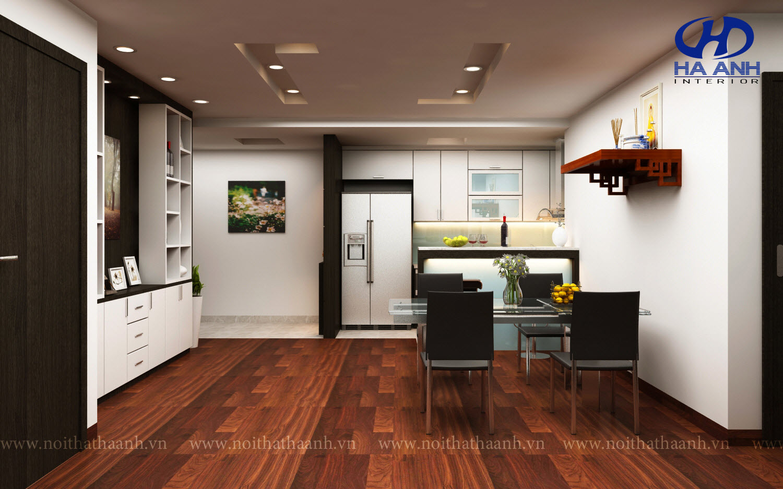 Tủ bếp công nghiệp HA-30112-1
