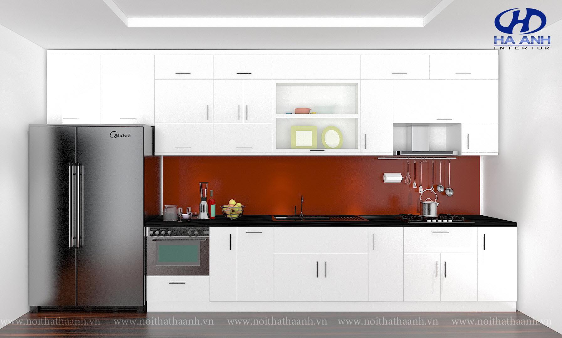 Tủ bếp công nghiệp HA-30114-1