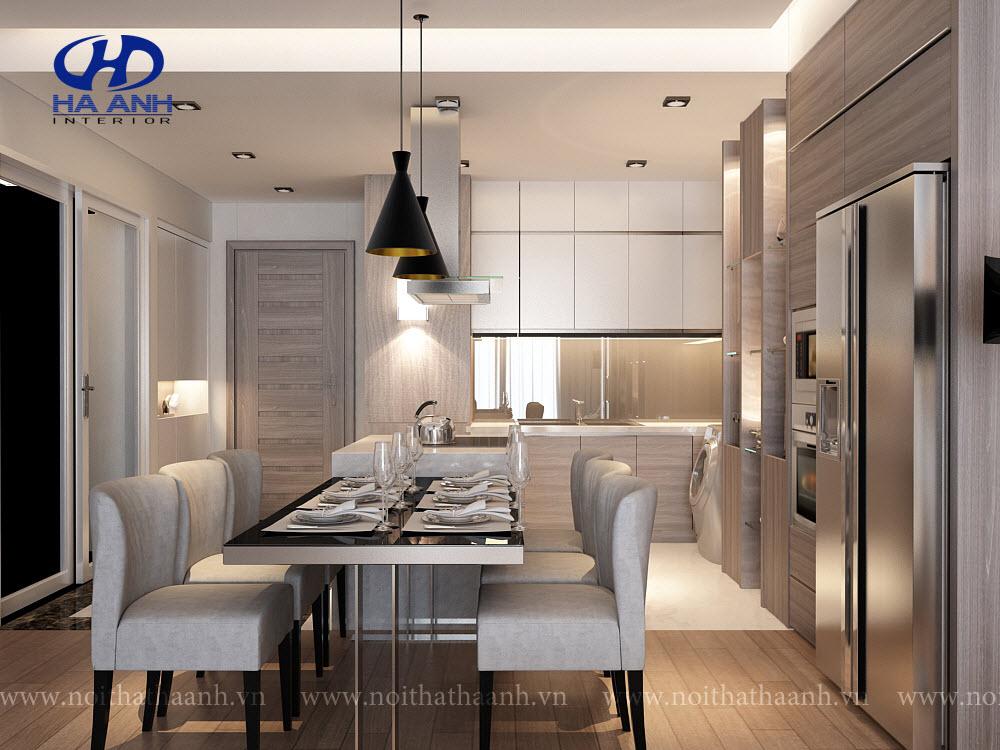 Tủ bếp laminate HA 30411-1