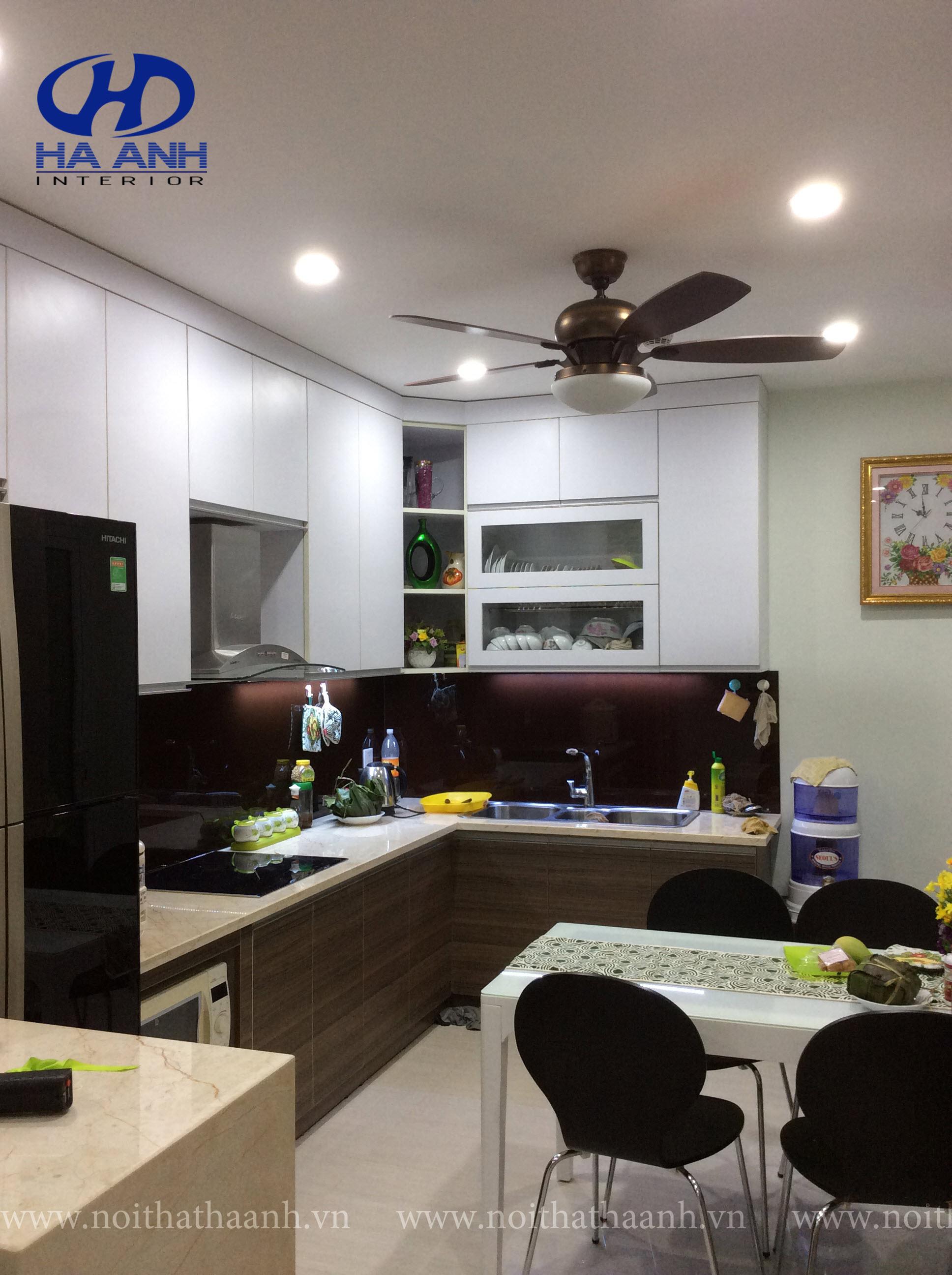 Tủ bếp Laminate lựa chọn tối ưu cho những bà nội trợ