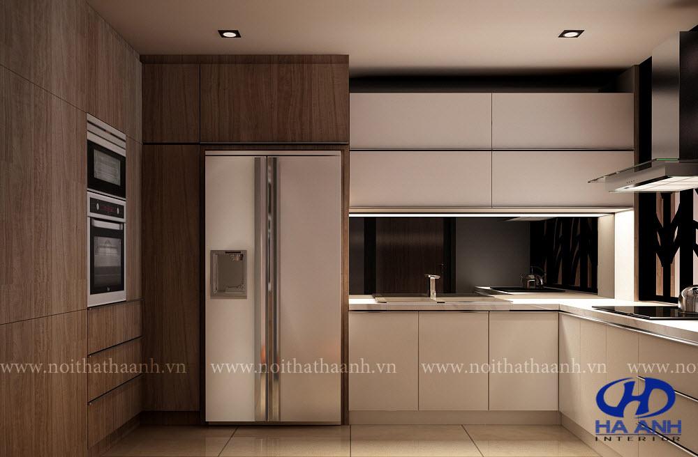Tủ bếp Veneer-0