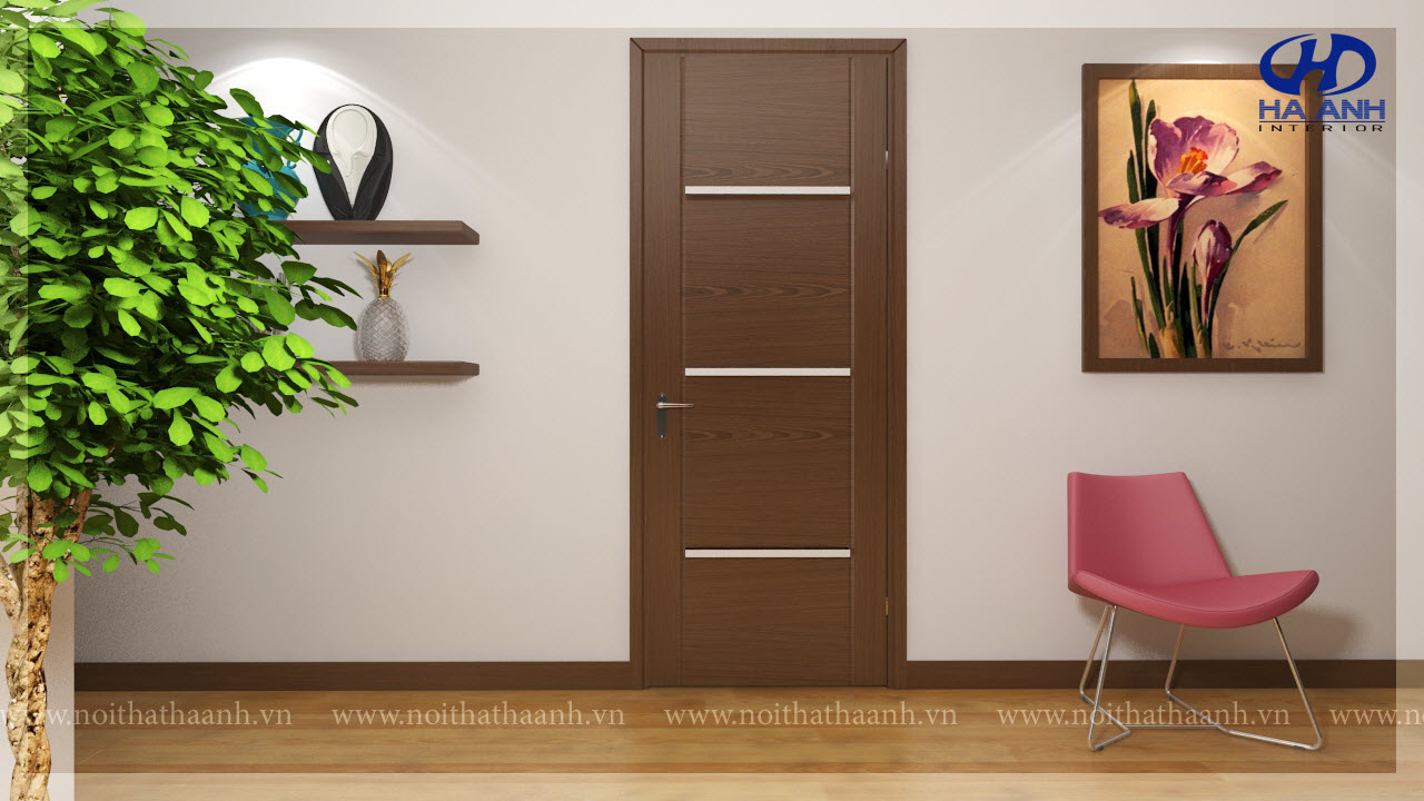 Cửa gỗ tự nhiên HA 10312-1